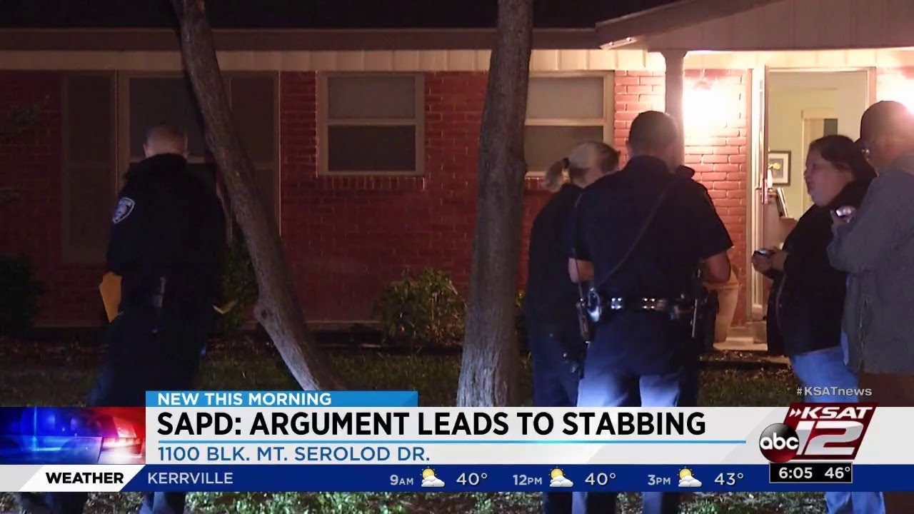 Woman detained after stabbing man during argument, police say