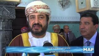 رئيس الحكومة يستقبل وزير الخدمة المدنية العماني