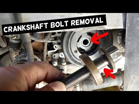 how-to-remove-crankshaft-pulley-bolt-stuck