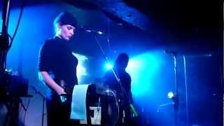 Laibach 'Take Me To Heaven / B Mashina / Iron Sky' HD @ Manchester, Academy 3, 12.04.2012