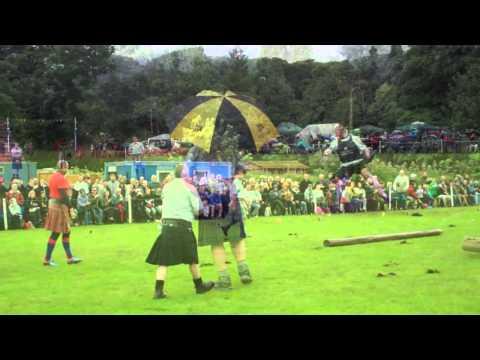 Scottish Highland Games Birnam Perthshire Scotland