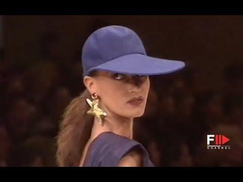 YVES SAINT LAURENT Spring Summer 1991 Paris – Fashion Channel