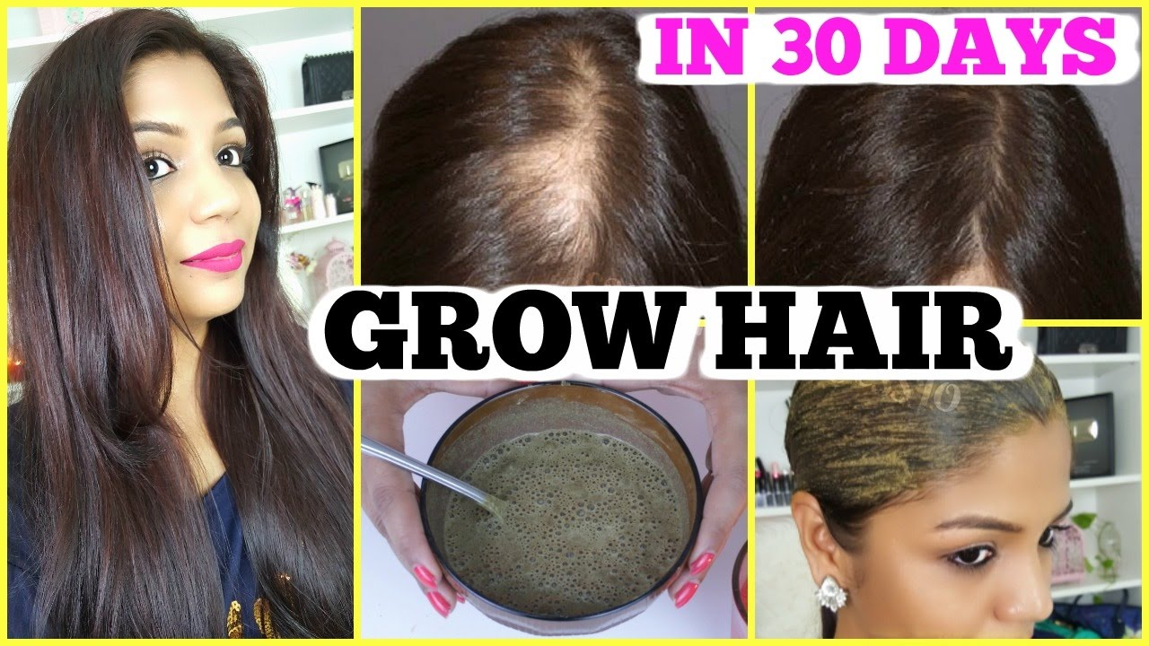 Natural Oil To Make Hair Grow