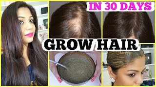 How to Grow Hair Homemade Hair Growth Mask For Thick hair 30 Days hair Treatment | SuperPrincessjo