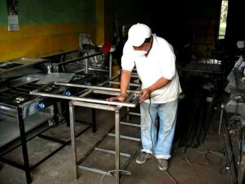 taller artesanal de cocinas industriales youtube