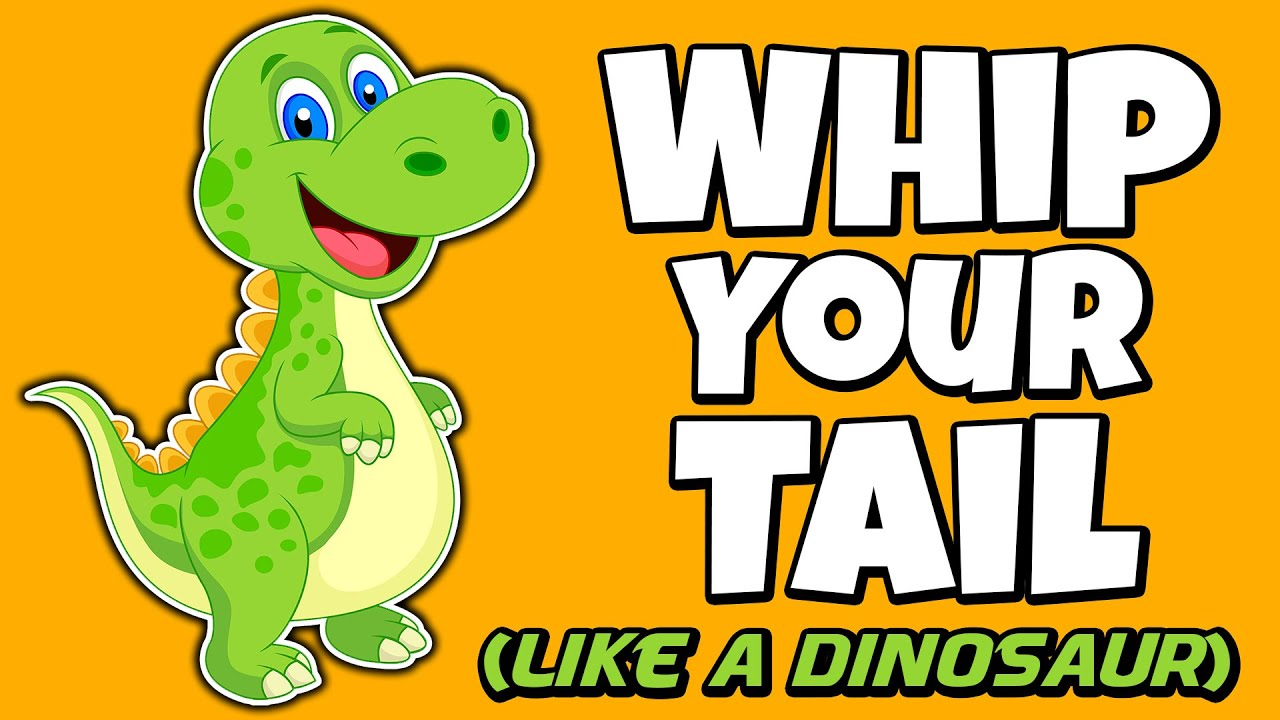 Kids Dance Songs with Movement - Whip Your Tail Like A Dinosaur - Brain Breaks - Join the challenge