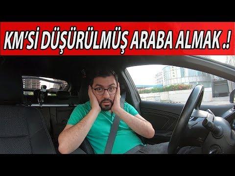 KİLOMETRE'Sİ DÜŞÜRÜLMÜŞ ARABA ALDIM ..!