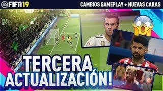 TERCERA ACTUALIZACIÓN DE FIFA 19 !!!! *50 NUEVAS CARAS*