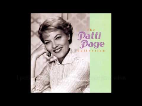 Scarlet Ribbons (with lyrics) -  Patti Page