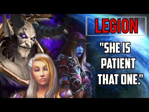 """""""She Is Patient That One..."""" - World of Warcraft Legion"""