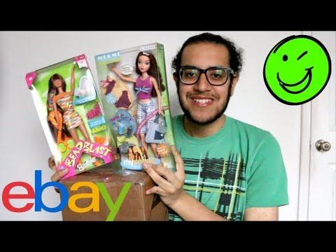 Ebay Doll Haul Unboxing Barbie My Scene Bratz Youtube