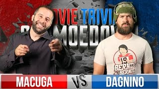 Josh Macuga Vs. Tom Dagnino - Movie Trivia Schmoedown