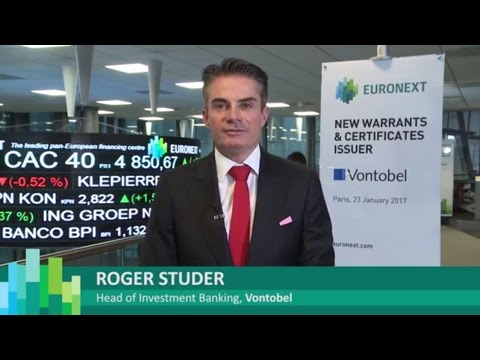 Euronext welcomes Vontobel as new Warrants & Certificates issuer