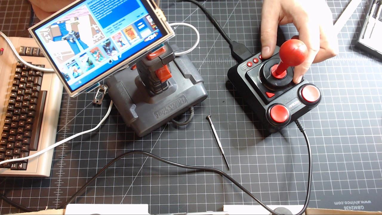 Ultimate fix for the C64 Mini Joystick - Use any Atari or C64 Original  joystick!