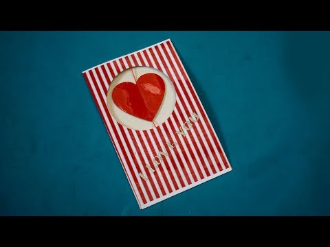 How to make Cute and Easy Greeting card at home ¦ Easy Paper Crafts