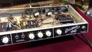1961 Fender 6G6 Bassman Restoration Part Two