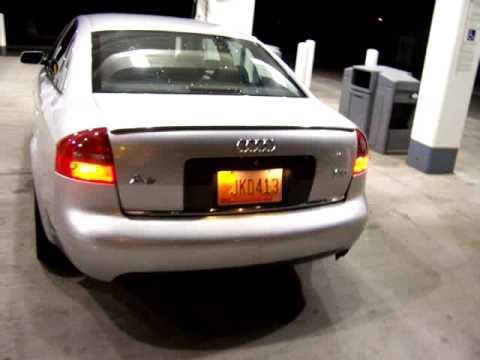 Saying goodbye to my 2000 Audi A6 2.7 Bi-Turbo - YouTube