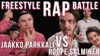 FREESTYLE RAP BATTLE: Jaakko Parkkali VS Roope Salminen