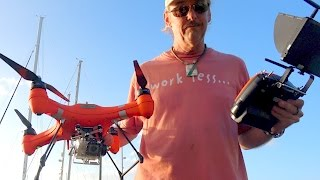 ssl new product test splash drone v2 waterproof drone unboxing and first opinion