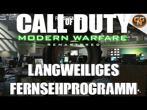 Call of Duty Modern Warfare Remastered Guide: Langweiliges Fernsehprogramm - Your Show Sucks Guide