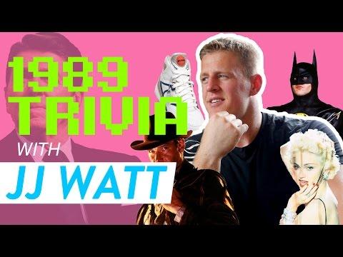 Houston Texans Defensive End JJ Watt Answers 1980s Trivia