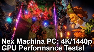 [4K] Nex Machina is Awesome on PC! Full Graphics Tweak Guide for 1440p/4K Performance!