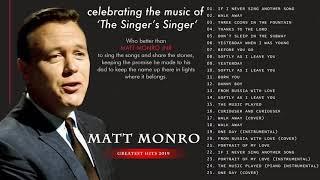 Download Matt Monro Greatest Hits Full Album - The Best Of Matt Monro 2020
