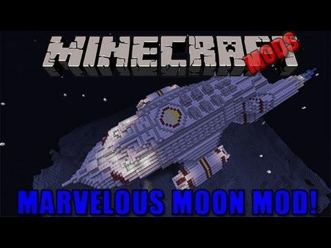 Minecraft Mods - Marvelous Moon Mod! - YouTube