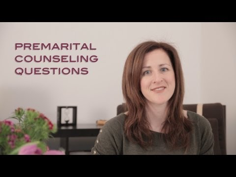 Couples Counseling: Pre marriage questions