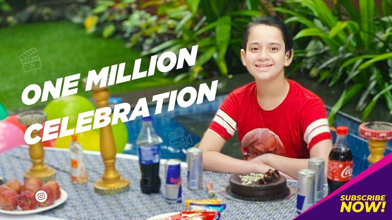 1 Million celebration | Ayaan Zubair Rahmani |