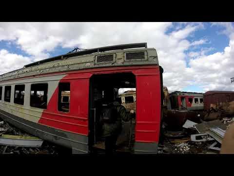 Проникли в Крематорий ж/д техники и на Кладбище вагонов | Как заканчивают свою жизнь поезда-призраки