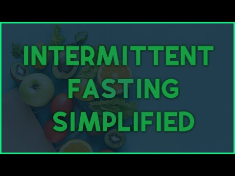 Intermittent Fasting - Shortest and Most Informative Video ✓