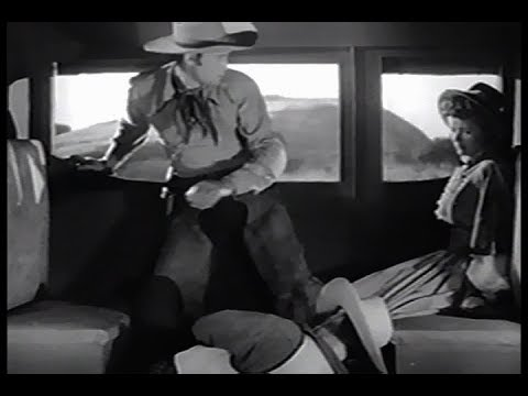 Adventures Of Frank and Jesse James - Ep.11, The Death Trap - Clayton Moore, Noel Neill