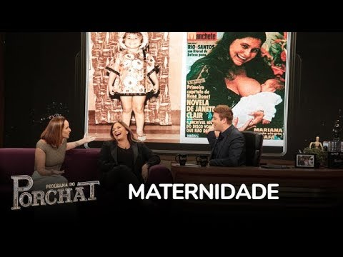 Fafá De Belém E Mariana Comentam Maternidade
