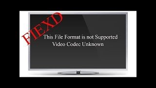 How to solve Unsupported  MP4 Files for Playing on samsung / Sony / LG TV