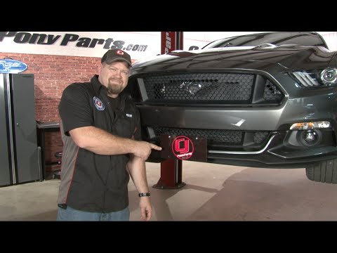 2015 Mustang Sto N Sho License Plate Bracket Install Youtube