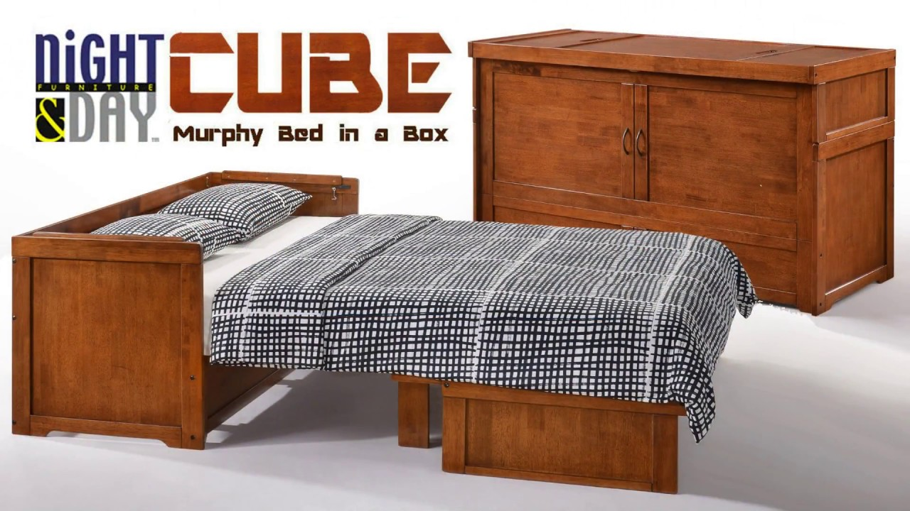 n u0026d cube     the murphy bed in a box