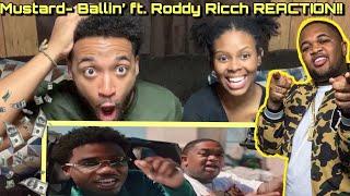 Mustard - Ballin' ft. Roddy Ricch REACTION!! 💵 🔥