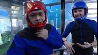видео Полет в аэротрубе в Красноярске. Выгодная цена на полёт в аэротрубе.