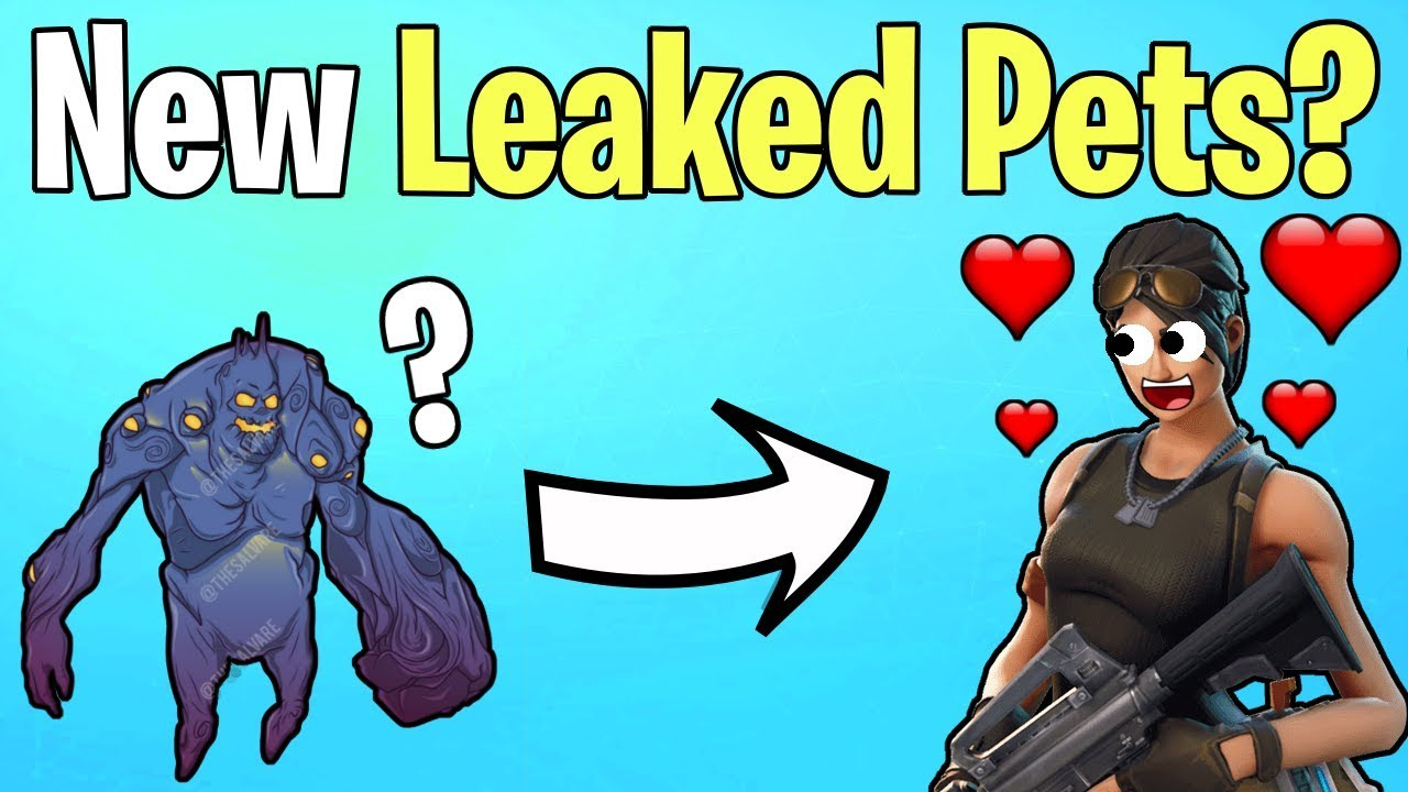 LEAKED Pets Coming To Save The World? | Fortnite Save The World News
