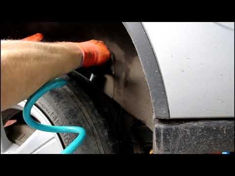Замена задних амортизаторов на Chevrolet Niva 4х4 Шевроле Нива 2016 года