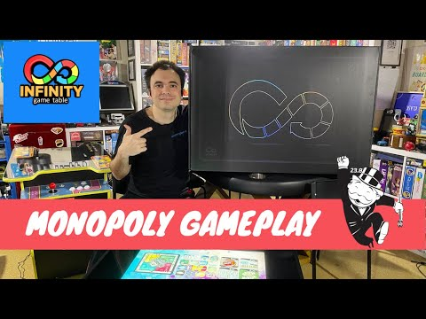 Infinity Game Table by Arcade1Up - Gameplay Showcase - Monopoly Digital Board Game from UrGamingTechie