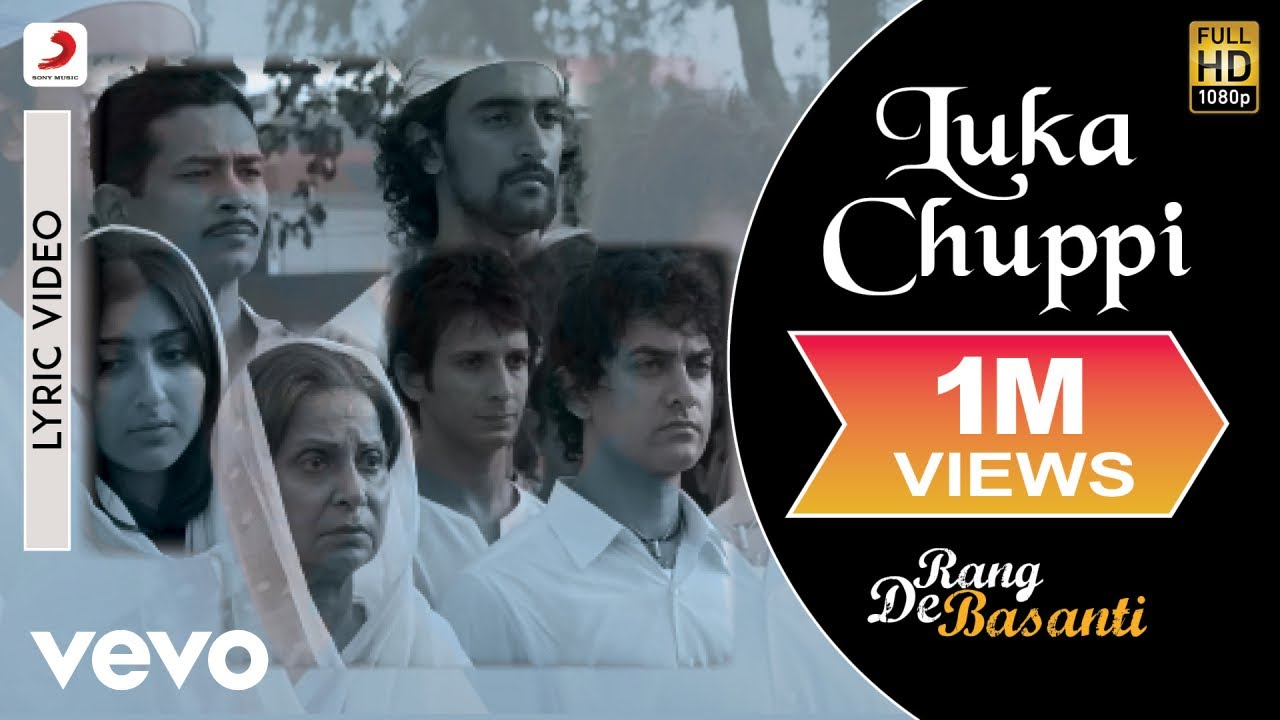 Download A.R. Rahman - Luka Chuppi Best Lyric Video|Rang De Basanti|Aamir Khan|Lata Mangeshkar