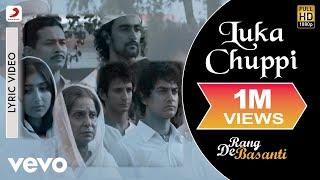A.R. Rahman - Luka Chuppi Best Lyric Video|Rang De Basanti|Aamir Khan|Lata Mangeshkar