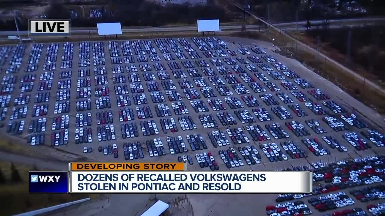 Dozens Of Recalled Volkswagens Stolen From Silverdome Lot