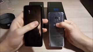 ПОДРОБНОЕ СРАВНЕНИЕ Samsung  Galaxy S8 vs Galaxy S9 (сравнение камер, дисплея)