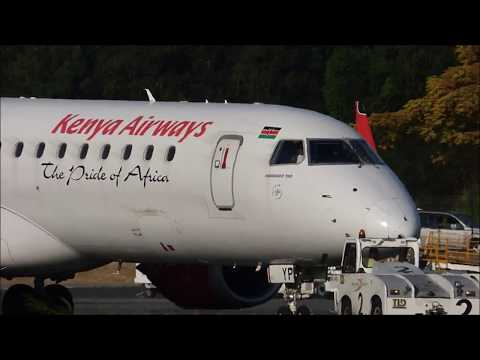 Take off Kenya Airways Aéroport de Pamandzi-Dzaoudzi Mayotte