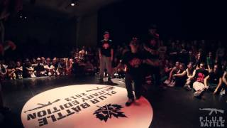 P.L.U.R. Battle Military Edition 2013/Crew HipHop 1/4 812 Crew vs Special Spice