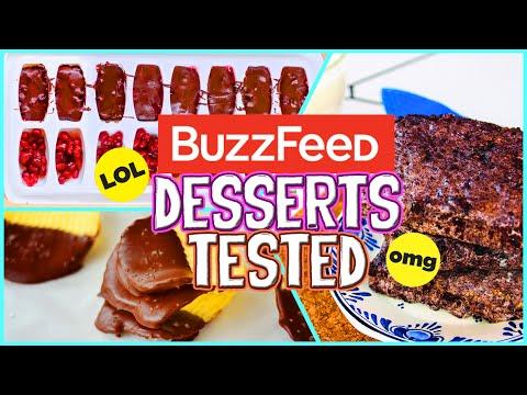 Buzzfeed Dessert Recipes TESTED!! Easy, No Bake Desserts 2016! // Jill Cimorelli