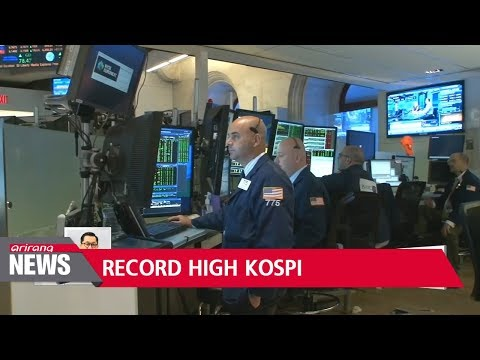 KOSPI-listed firms' net profit hit record high in 2017